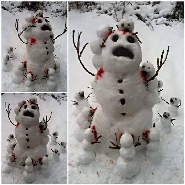 mutant killer snowmen